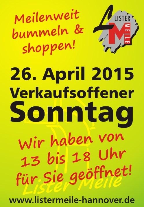 Verkaufsoffener Sonntag Hannover 2021